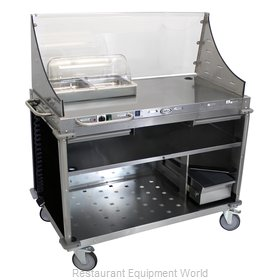 Cadco CBC-DC-L6 Serving Counter, Hot Food, Electric