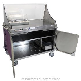 Cadco CBC-DC-L7-D Serving Counter, Hot Food, Electric