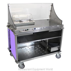 Cadco CBC-DC-L7 Serving Counter, Hot Food, Electric