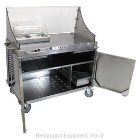 Cadco CBC-DC-LST-D Serving Counter, Hot Food, Electric