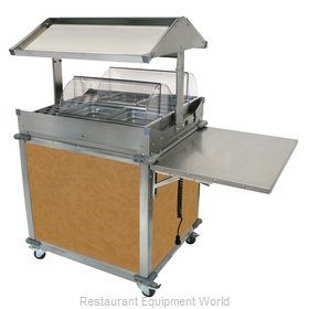 Cadco CBC-GG-2-L1 Serving Counter, Hot Food, Electric