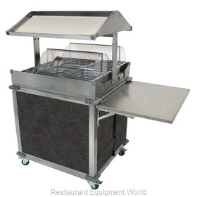 Cadco CBC-GG-2-L3 Serving Counter, Hot Food, Electric