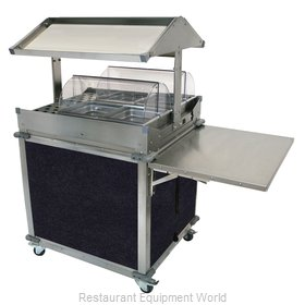 Cadco CBC-GG-2-L4 Serving Counter, Hot Food, Electric
