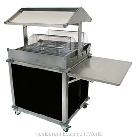 Cadco CBC-GG-2-L6 Serving Counter, Hot Food, Electric