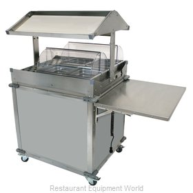 Cadco CBC-GG-2-LST Serving Counter, Hot Food, Electric