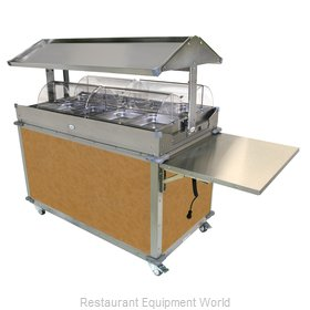 Cadco CBC-GG-4-L1 Serving Counter, Hot Food, Electric
