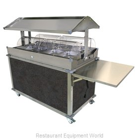 Cadco CBC-GG-4-L3 Serving Counter, Hot Food, Electric