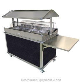 Cadco CBC-GG-4-L4 Serving Counter, Hot Food, Electric