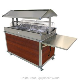 Cadco CBC-GG-4-L5 Serving Counter, Hot Food, Electric
