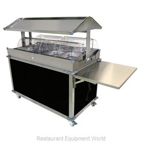 Cadco CBC-GG-4-L6 Serving Counter, Hot Food, Electric