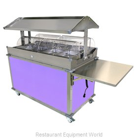 Cadco CBC-GG-4-L7 Serving Counter, Hot Food, Electric