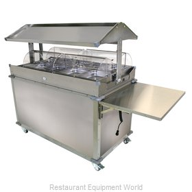 Cadco CBC-GG-4-LST Serving Counter, Hot Food, Electric