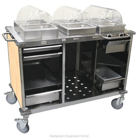 Cadco CBC-HC-L2 Serving Counter Hot and Cold Buffet