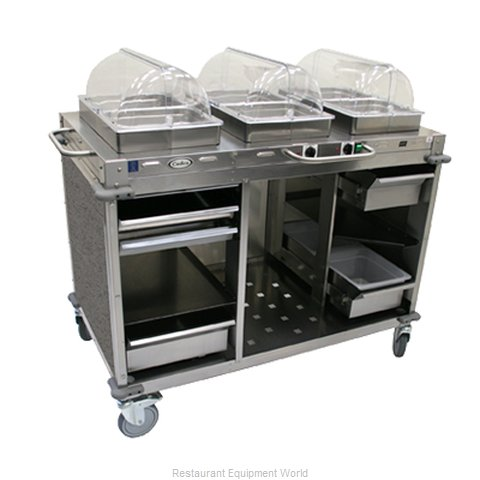 Cadco CBC-HC-L3 Serving Counter Hot and Cold Buffet