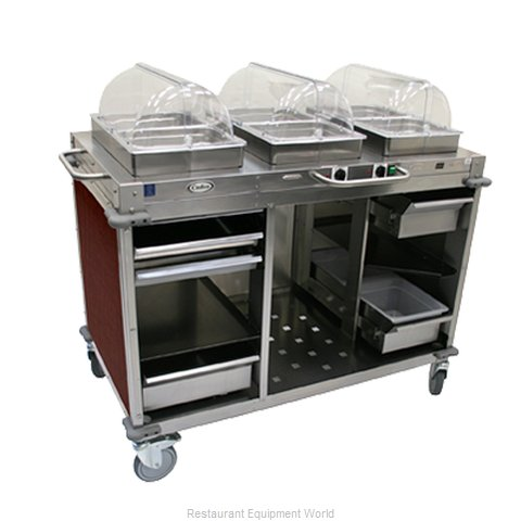 Cadco CBC-HC-L5 Serving Counter Hot and Cold Buffet