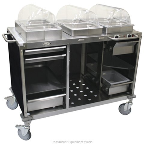 Cadco CBC-HC Serving Counter Hot and Cold Buffet