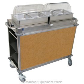 Cadco CBC-HH-L1-4 Serving Counter, Hot Food, Electric