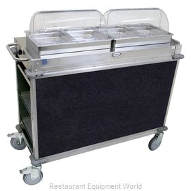 Cadco CBC-HH-L4 Serving Counter, Hot Food, Electric