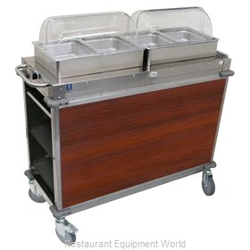Cadco CBC-HH-L5-4 Serving Counter, Hot Food, Electric