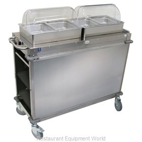 Cadco CBC-HH-LST-4 Serving Counter, Hot Food, Electric
