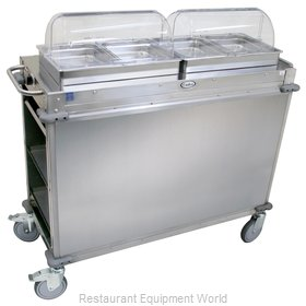 Cadco CBC-HH-LST Serving Counter, Hot Food, Electric