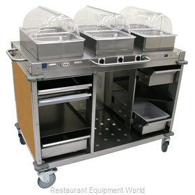 Cadco CBC-HHH-L1-4 Serving Counter, Hot Food, Electric