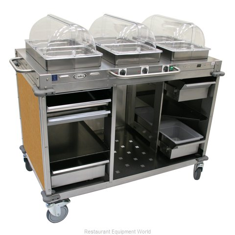 Cadco CBC-HHH-L1 Serving Counter Hot Food Steam Table Electric