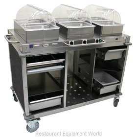 Cadco CBC-HHH-L3-4 Serving Counter, Hot Food, Electric