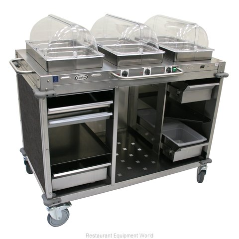 Cadco CBC-HHH-L3 Serving Counter, Hot Food, Electric