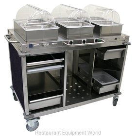 Cadco CBC-HHH-L4-4 Serving Counter, Hot Food, Electric
