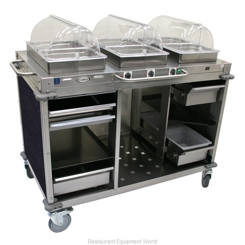 Cadco CBC-HHH-L4 Serving Counter Hot Food Steam Table Electric