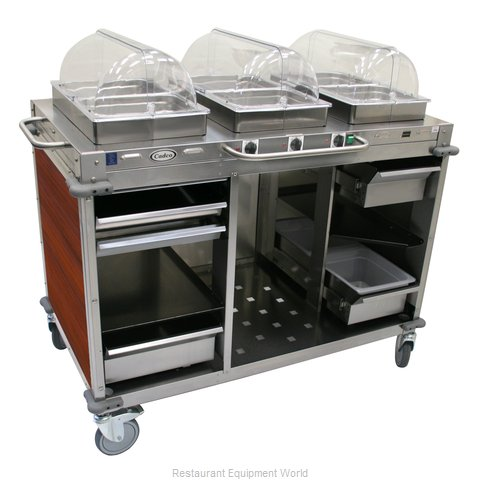 Cadco CBC-HHH-L5 Serving Counter Hot Food Steam Table Electric