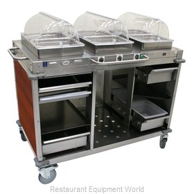 Cadco CBC-HHH-L5 Serving Counter, Hot Food, Electric