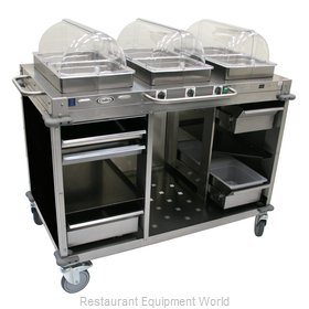Cadco CBC-HHH-L6 Serving Counter, Hot Food, Electric