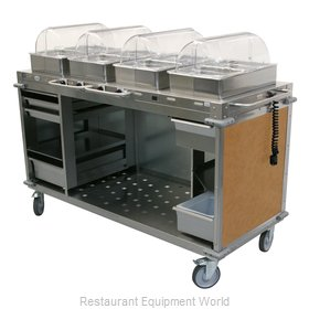 Cadco CBC-HHHH-L1-4 Serving Counter, Hot Food, Electric