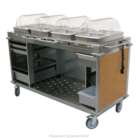 Cadco CBC-HHHH-L1 Serving Counter, Hot Food, Electric