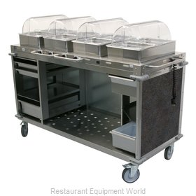 Cadco CBC-HHHH-L3-4 Serving Counter, Hot Food, Electric