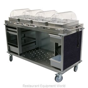 Cadco CBC-HHHH-L4 Serving Counter, Hot Food, Electric