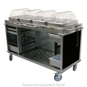 Cadco CBC-HHHH-L6 Serving Counter, Hot Food, Electric