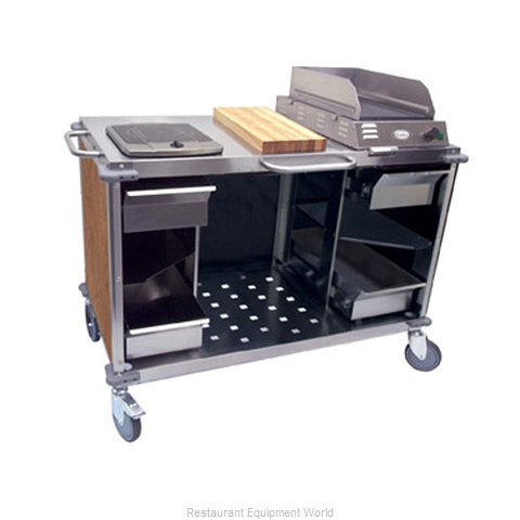 Cadco CBC-MCC-L1 Serving Counter Cooking Equipment Stand
