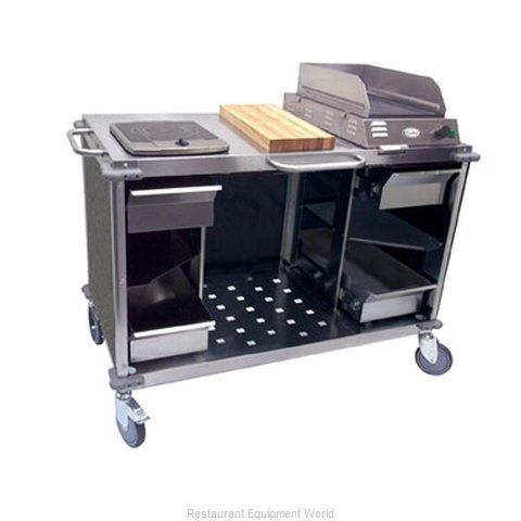 Cadco CBC-MCC-L3 Serving Counter Cooking Equipment Stand