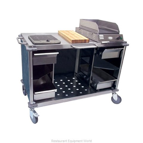 Cadco CBC-MCC-L4 Serving Counter Cooking Equipment Stand