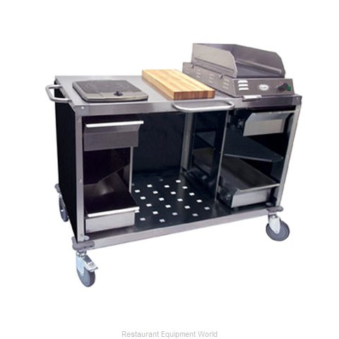 Cadco CBC-MCC Serving Counter Cooking Equipment Stand