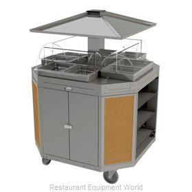 Cadco CBC-OCT-L1 Serving Counter, Hot Food, Electric