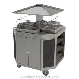 Cadco CBC-OCT-L3 Serving Counter, Hot Food, Electric