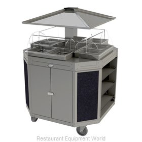 Cadco CBC-OCT-L4 Serving Counter, Hot Food, Electric