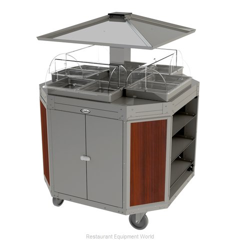 Cadco CBC-OCT-L5 Serving Counter, Hot Food, Electric