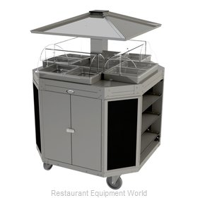 Cadco CBC-OCT-L6 Serving Counter, Hot Food, Electric