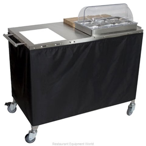 Cadco CBC-PHR-3 Serving Counter Hot Food Steam Table Electric