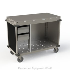 Cadco CBC-PHRX-L6 Serving Counter, Hot Food, Electric